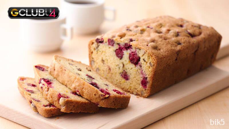 Cranberry-Orange แนะนำวิธีการทำเค้ก