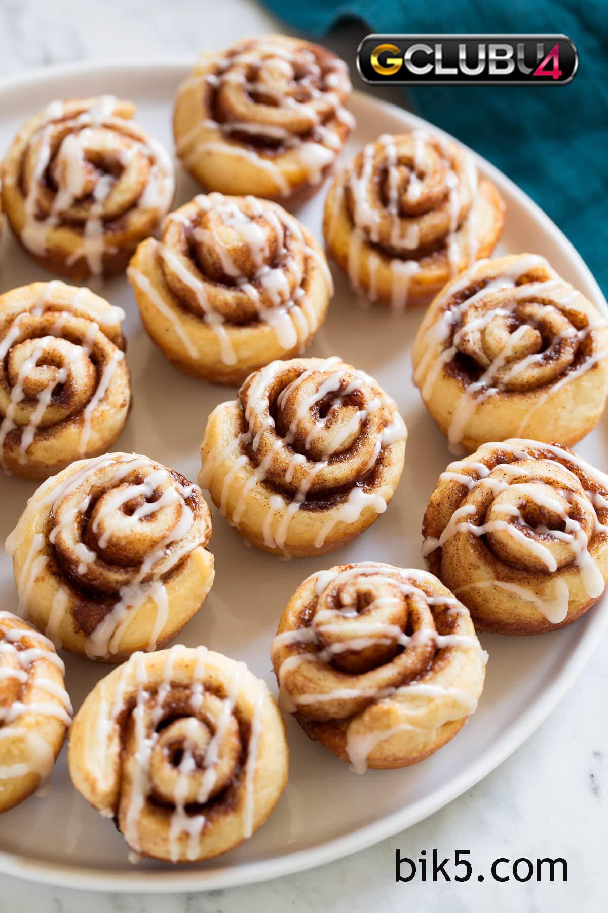 cinnamon rolls ของหวานที่น่าสนใจ