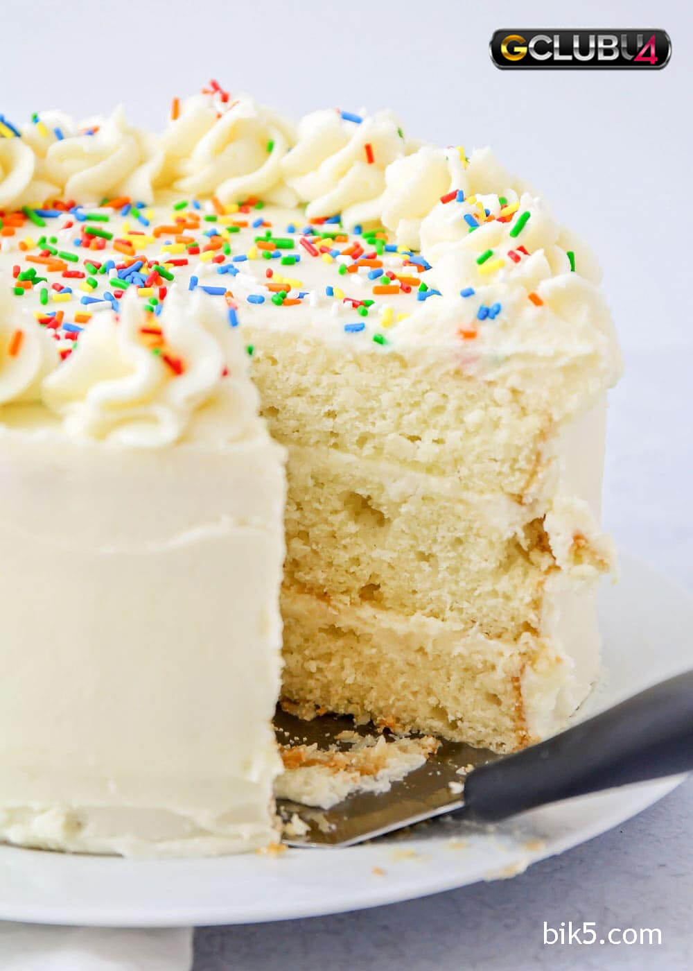 vanilla cake เค้กวานิลลาที่หอมหวาน