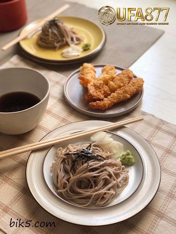 บะหมี่โซเมนเย็นญี่ปุ่น
